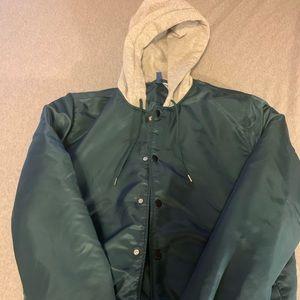 Divided jacket